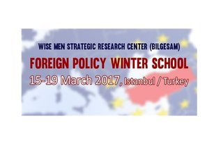 Foreign Policy Winter School 2017, Istanbul, Turkey