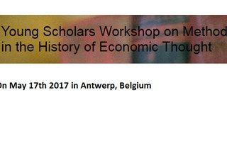 Young Scholars Workshop on Methods in the History of Economic Thought