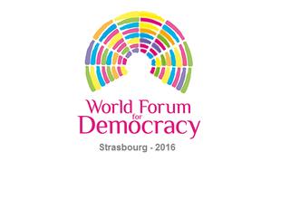 World Forum for Democracy 2016 in  Strasbourg, France