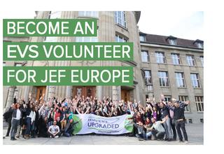 Vacancy for EVS volunteer in Brussels