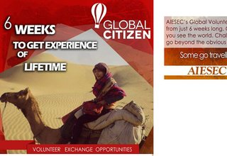 Apply for Global Citizen – Volunteering Abroad program