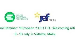 "International Seminar: ""European Y.O.U.T.H.: Welcoming refugees!"""