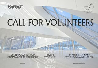 Volunteers Needed at YARAT Contemporary Art Organisation